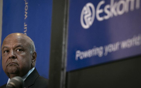 Public Enterprises Minister Pravin Gordhan briefs the media on 19 March 2019. Picture: Sethembiso Zulu/EWN