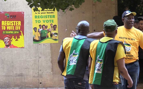 FILE. Gauteng ANC Provincial Chairperson Paul Mashatile during a voter registration campaign at TUT at the weekend. Picture: Vumani Mkhize/EWN.