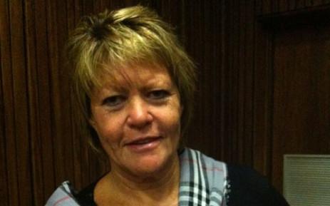 Suspended Prosecutor Glynnis Breytenbach. Picture: Mandy Wiener/EWN.