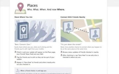 A screen grab of social networking site, Facebook. Picture: AFP