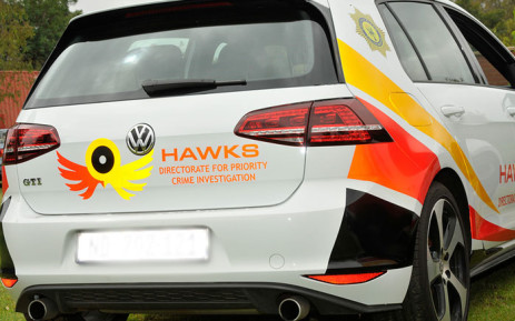 FILE: A Hawks vehicle. Picture: SAPS.