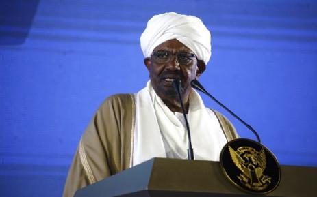 FILE: Sudan's Omar al-Bashir. Picture: AFP