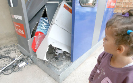 File picture: ATM bombing. Picture: Sapa