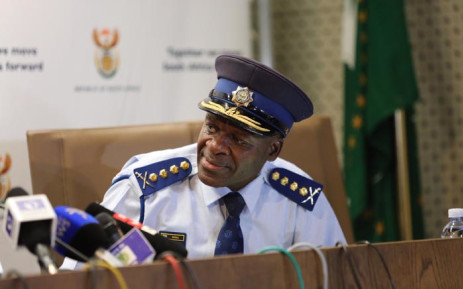 National Police Commissioner Lieutenant-General Khehla Sitole. Picture: Christa Eybers/EWN