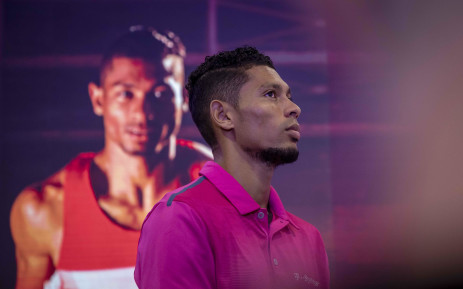 Wayde van Niekerk speaks about his injury and recovery process during a press briefing in Johannesburg on 28 February 2019. Picture: Thomas Holder/EWN