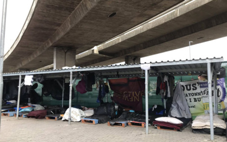 The City of Cape Town's Safe Space shelter for homeless people. Picture: Kaylynn Palm/EWN