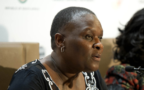 FILE: National Police Commissioner Riah Phiyega. Picture: GCIS.