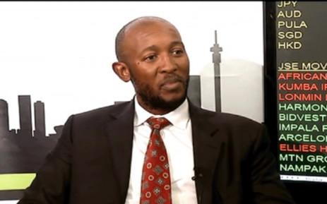 FILE: A YouTube screengrab of fired Denel CFO Odwa Mhlwana.