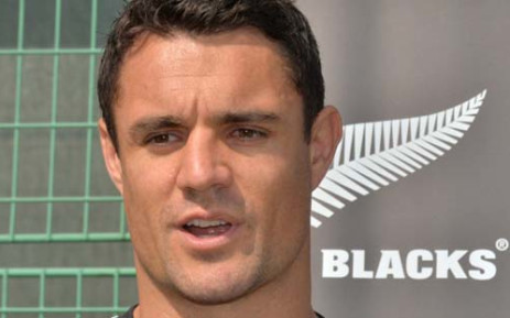 All Blacks player Daniel Carter. Picture: AFP.