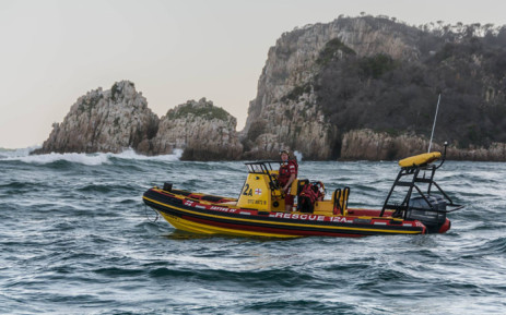 A fisherman is reported to have gone missing in Knysna, Western Cape. Picture: NSRI.