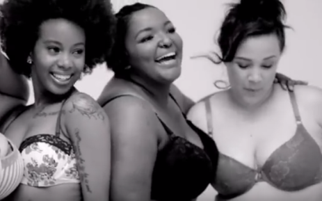 A screengrab of three of the women featured in Jet's #LoveYourself campaign.