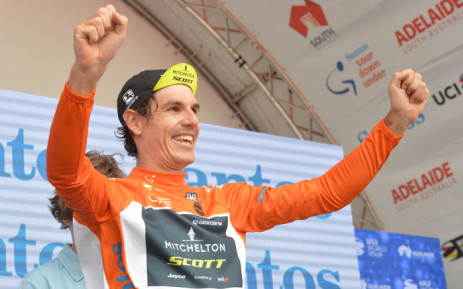 FILE: Mitchelton-SCOTT rider Daryl Impey of South Africa celebrates overall victory in the 2018 Tour Down Under on 21 January 2018. Picture: AFP