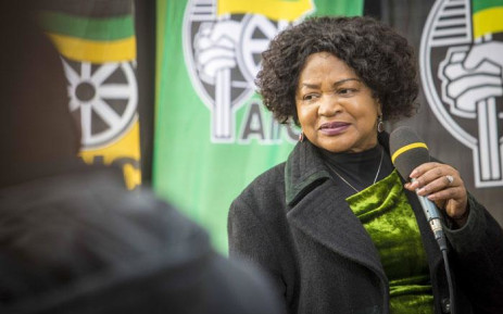 The ANC's Baleka Mbete during an interview at Nasrec. Picture: Thomas Holder/EWN