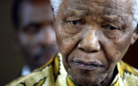 Former president Nelson Mandela. Picture: AFP