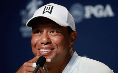 Tiger Woods did not appear to be under the influence of drugs or alcohol during the early-morning incident, and underwent surgery after the roll-over collision Picture: @PGAChampionship/Twitter