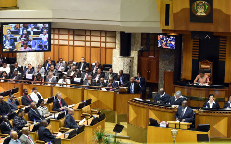 FILE: Nhlanhla Nene in Parliament. Picture: GCIS.