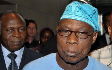 Former Nigerian president Olusegun Obasanjo. Picture: AFP.