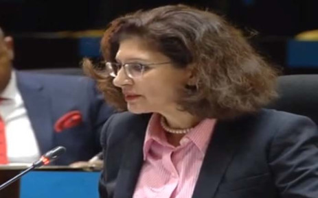 A screengrab of former Public Investment Corporation board member Claudia Manning testifying at the PIC inquiry in Pretoria on 29 January. Picture: YouTube.