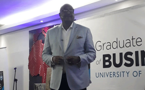 FILE: Music mogul and entrepreneur Dr Matthew Knowles at the University of Cape Town's Graduate School of Business. Picture: EWN.