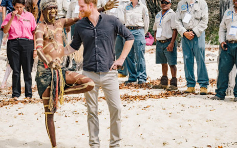 Prince Harry and Meghan Markle arrive in Fiji for three-day visit