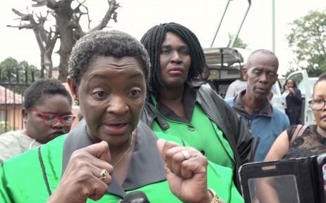 FILE: Minister of Women in the Presidency Bathabile Dlamini. Picture: Louise McAuliffe/EWN