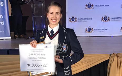 Meet Marle Grabe, Gauteng's top achiever