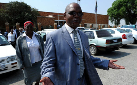 Former crime intelligence head Richard Mdluli. Picture: Taurai Maduna/EWN