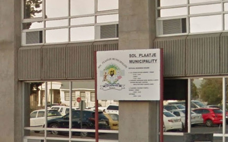 The Sol Plaatje Municipality building. Picture: Google Earth.