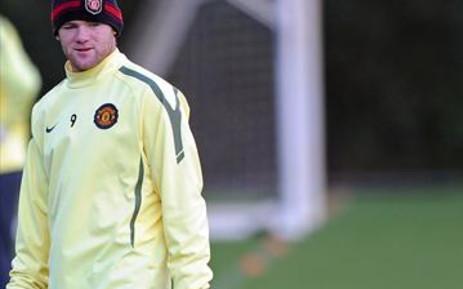 Manchester United striker Wayne Rooney. Picture: AFP