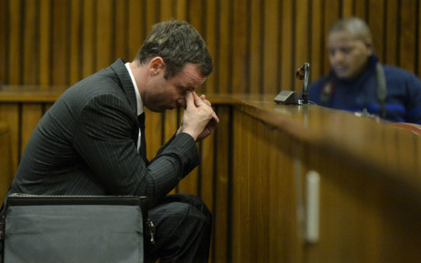FILE: Oscar Pistorius during his court case at the High Court in Pretoria 8 August 2014. Picture: Pool.