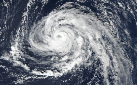 FILE: A screengrab of a tropical storm which has been predicted. Picture: www. earthobservatory.nasa.gov.