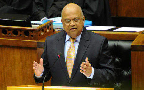 FILE: Finance Minister Pravin Gordhan delivered his Budget Speech in Parliament on 26 February 2014. Picture: GCIS