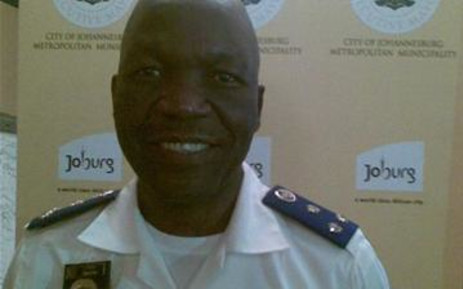 Chief of the National Traffic Police, David Tembe.