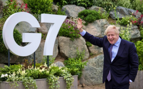 UK Prime Minister Boris Johnson will not shake hands at the G7 Summit-- something he insisted on doing in the early stages of the pandemic. Picture: Twitter/@BorisJohnson