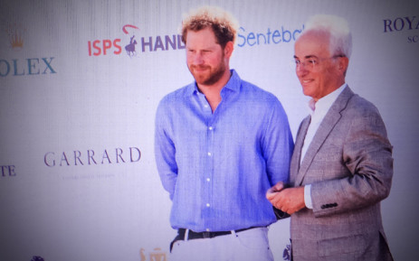 FILE: Prince Harry and Sentebale Chairman Philip Green. Picture: Thomas Holder/EWN.