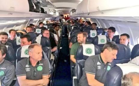 Brazilian football club Chapecoense. Picture: Twitter @AndresFelipe.