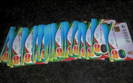 FILE: Sassa cards. Picture: SAPS