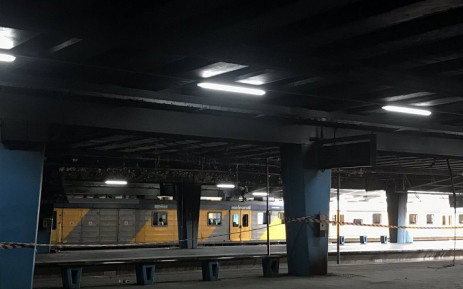 FILE: A Metrorail train platform at Cape Town station. Picture: Kevin Brandt/EWN