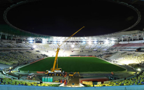 The Brazil vs England friendly was played at the newly reopened Rio de Janeiro's Maracana football stadium. Picture: AFP