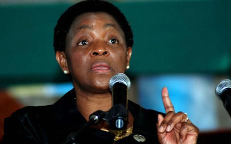 FILE: Social Development Minister Bathabile Dlamini. Picture: GCIS