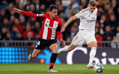 Real Madrid drew 0-0 to Athletic Bilbao on 22 December 2019. Picture: @realmadriden/Twitter.