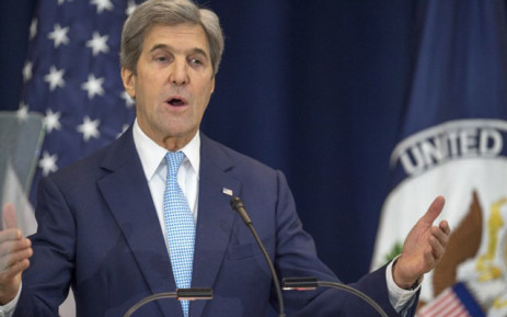 FILE: US climate envoy John Kerry. Picture:  AFP.