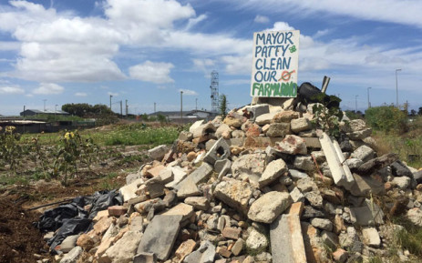 """The Philippi Horticulture Area (PHA) Food & Farming Campaign hope to raise awareness about """"CT's food basket"""". Picture: Monique Mortlock/EWN."""