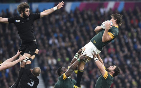 File Springboks Vs New Zealand In The Rugby World Cup Semifinal At Twickenham On 24