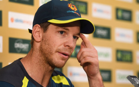 Australia cricket captain Tim Paine.Picture: AFP