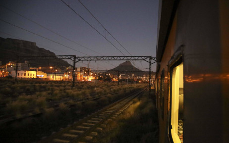 A Metrorail train pictured in Cape Town. Picture: Cindy Archillies/EWN