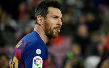 Barcelona's Argentine forward Lionel Messi looks on during the Spanish league football match between FC Barcelona and Granada FC at the Camp Nou stadium in Barcelona on 19 January 2020. Picture: AFP