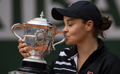 French Open tennis champion Ash Barty. Picture: @Ashbar96/Twitter