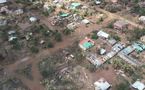 Before and after shots show extent of Mozambique devastation