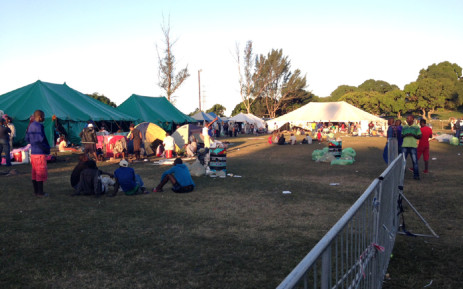 Provincial government in KwaZulu-Natal has set up four camps throughout the province to house foreign nationals who have fallen victim to xenophobic attacks. Picture: Vumani Mkhize/EWN.